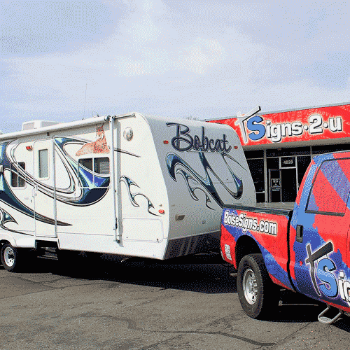 RV Graphics and RV Wraps in Boise