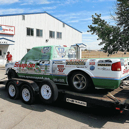 Race Car Wraps and Race Car Graphics in Boise