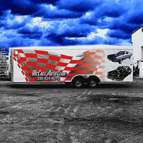 Trailer Wraps and Trailer Graphics in Boise
