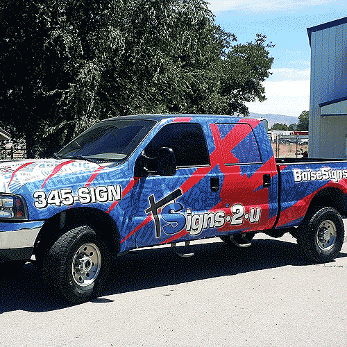 Truck Wraps and Truck Graphics in Boise