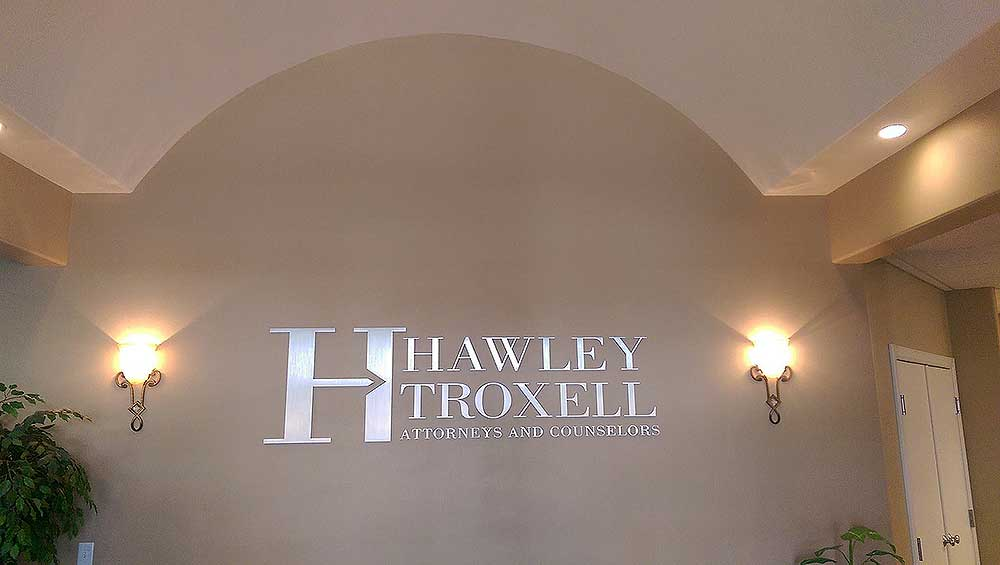 Hawley Troxell Office Signage