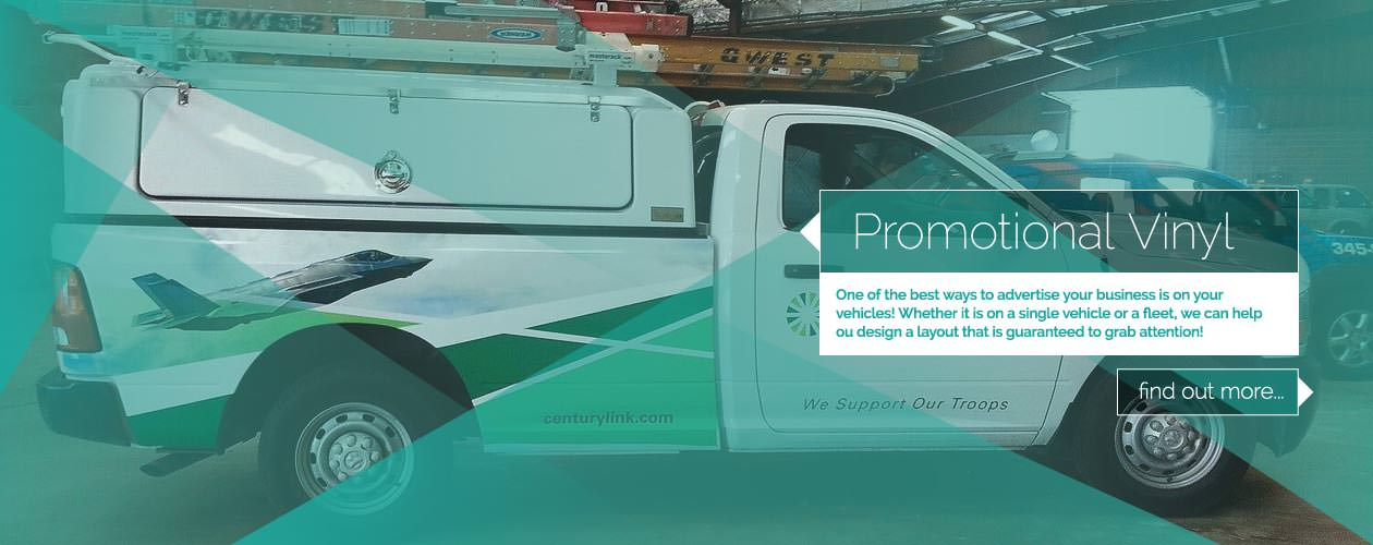 Promotional Vinyl Car Graphics in Boise