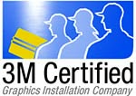 A 3M Certified Graphics Installation Company