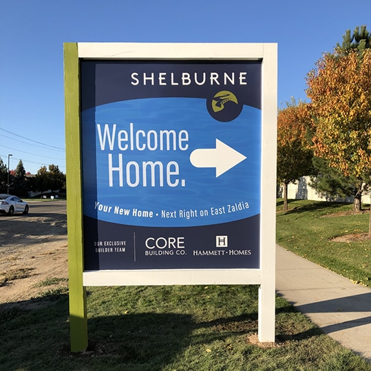 Subdivision signs
