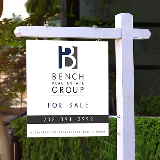 Real Estate Agent Signs