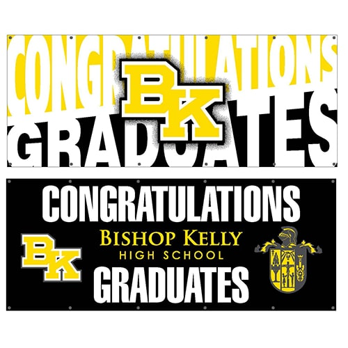 Bishop Kelly Senior Class Banner