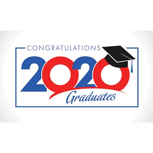 2020 Graduation Yard Sign