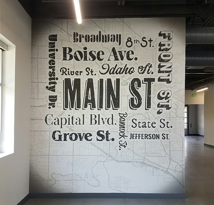 Printed Wall Graphics