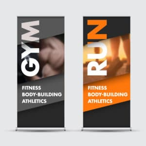 Rollup bannerstand
