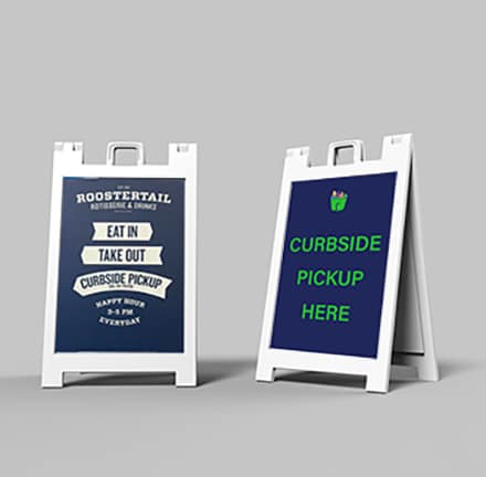 Sandwich Board Signs