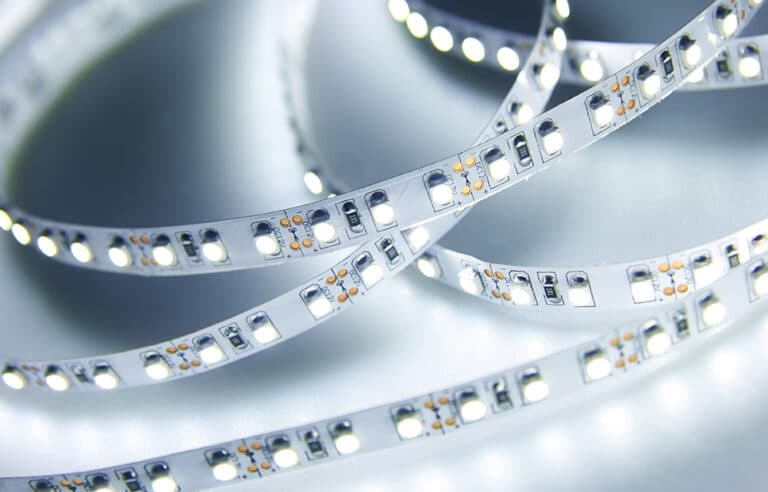 Example of LED lights