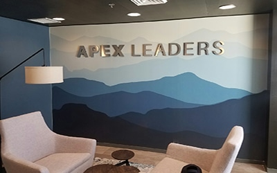 apex leaders3d sign letters