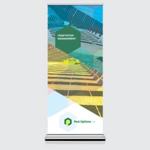 pop up banner stand