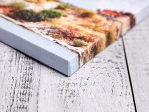 custom canvas print with gallery wrap