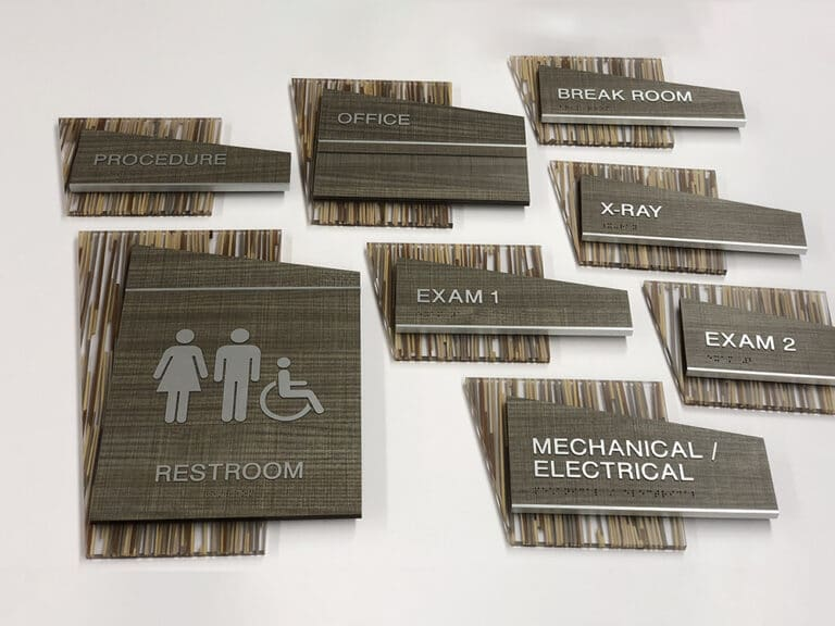 dr's office signage
