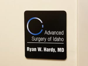 dr office sign